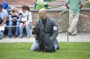 Raul con su cachorrón